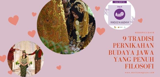 9 tradisi pernikahan budaya Jawa penuh filosofi