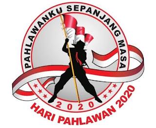 Nopember bangsa Indonesia memperingati hari Pahlawan TEMA DAN LOGO HARI PAHLAWAN TAHUN 2020