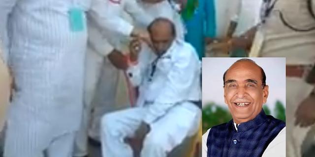 मतगणना के बीच कांग्रेस जिलाध्यक्ष को हार्ट अटैक, मौत | MP NEWS