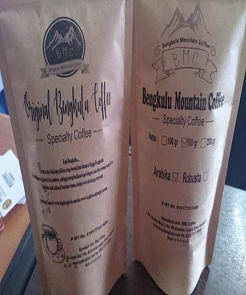 Arabica Coffee dari Bengkulu Mountain Coffee,