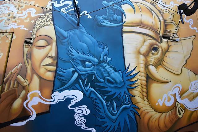 Canberra Street Art | Dickson mural by Peque & TkChavez