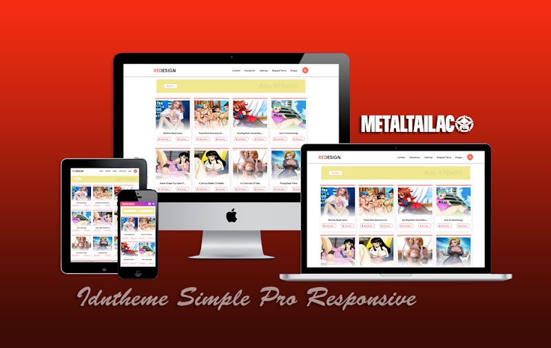 Idntheme Simple Pro - Responsive Blogger Template