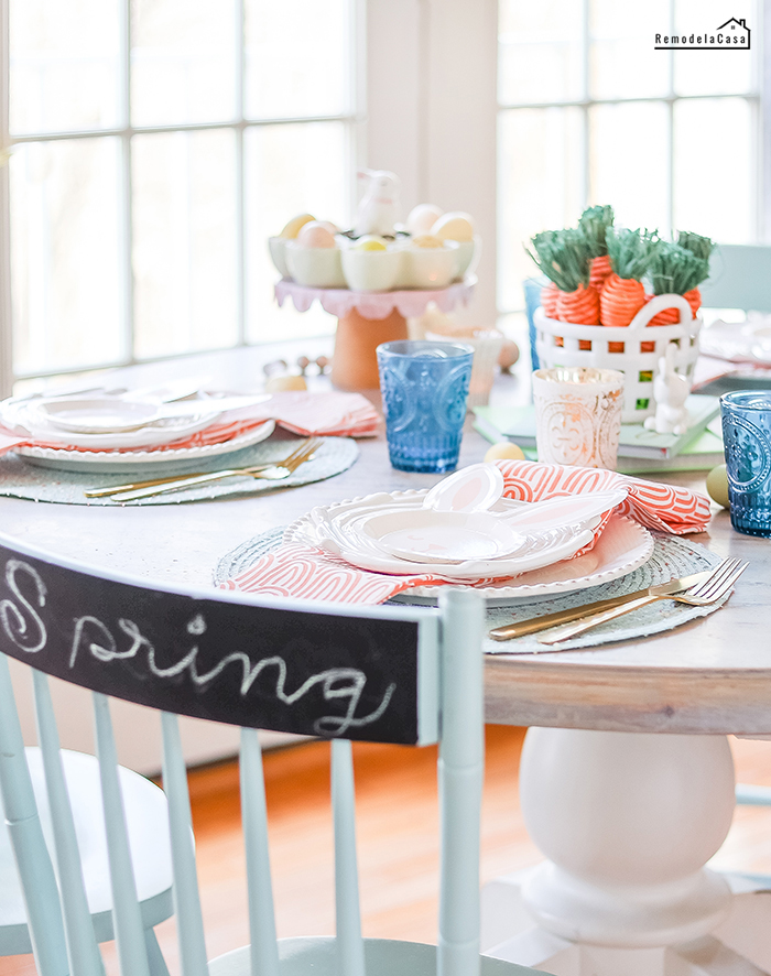 Easter - Spring table