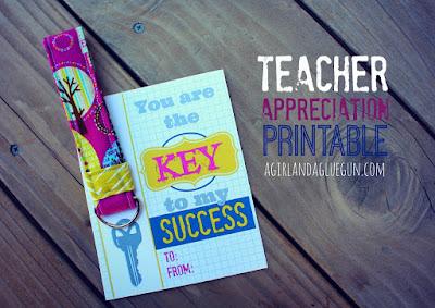 portachiavi fai da te per maestra