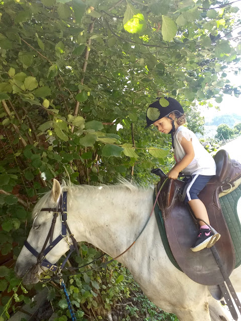 Equitazione e bambini