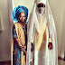Photo: Emir of Kano with his daughter on her wedding day