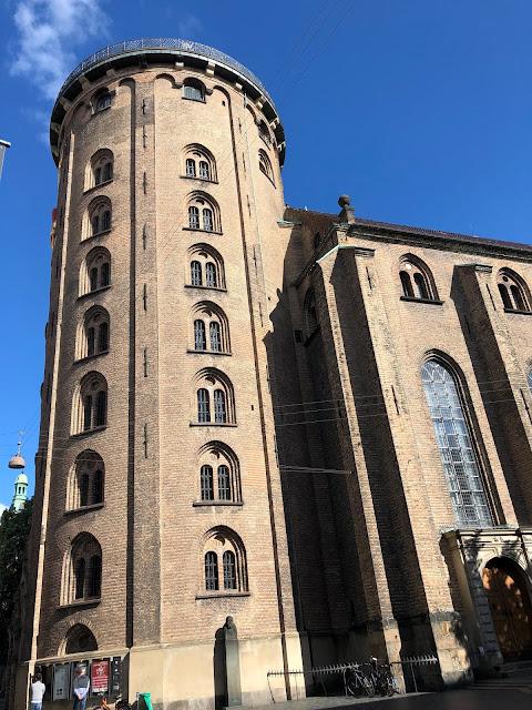 Climbing The Round Tower in Copenhagen, Denmark