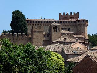 The medieval castle at Gradara