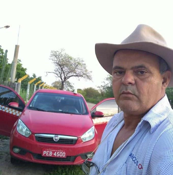 Afogados: Morre Marcos Taxista