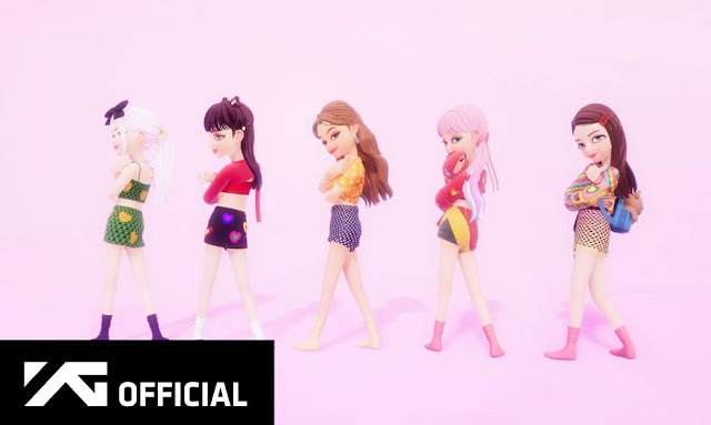 BLACKPINK X Selena Gomez Ice Cream'DANCE PERFORMANCE VIDEO in ZEPETO)