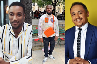 Akah Nnani, Hushpuppi and Daddy Freeze