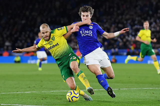 Norwich VS Leicester is the K24 TV EPL maskani match this saturday