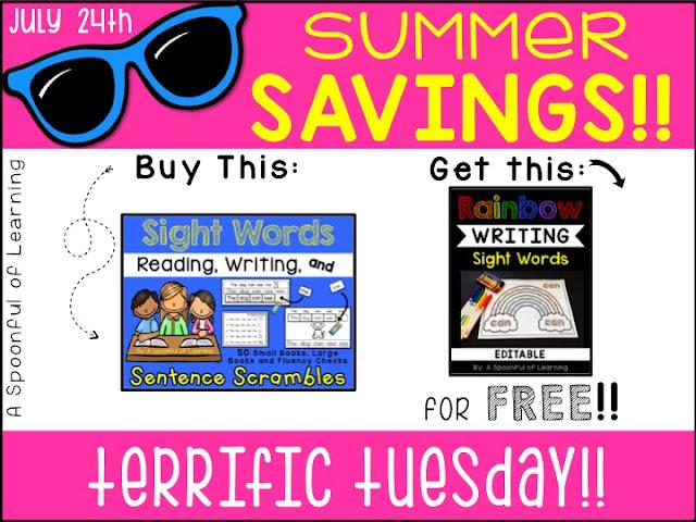 7 Days of Summer Savings 2018 | Terrific Tuesday
