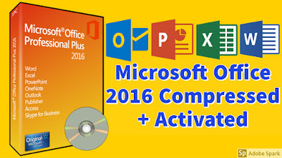 Microsoft office 2016 Highly Compressed + Activated 100% Working