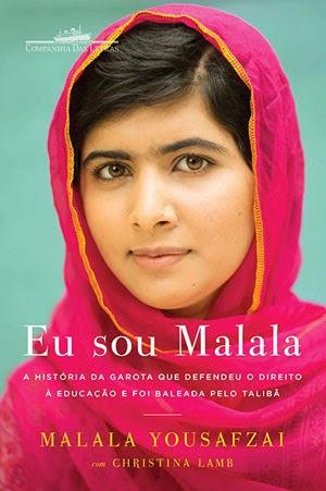 Capa do livro Eu sou Malala, de Malala Yousafzai com Christina Lamb (Companhia das Letras)