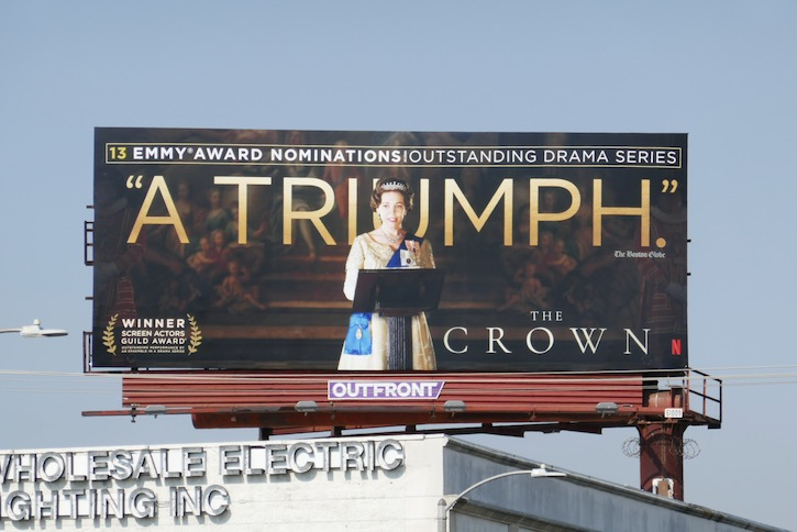Crown 2020 Emmy nominations billboard