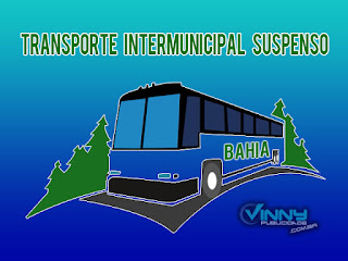Transporte intermunicipal suspenso
