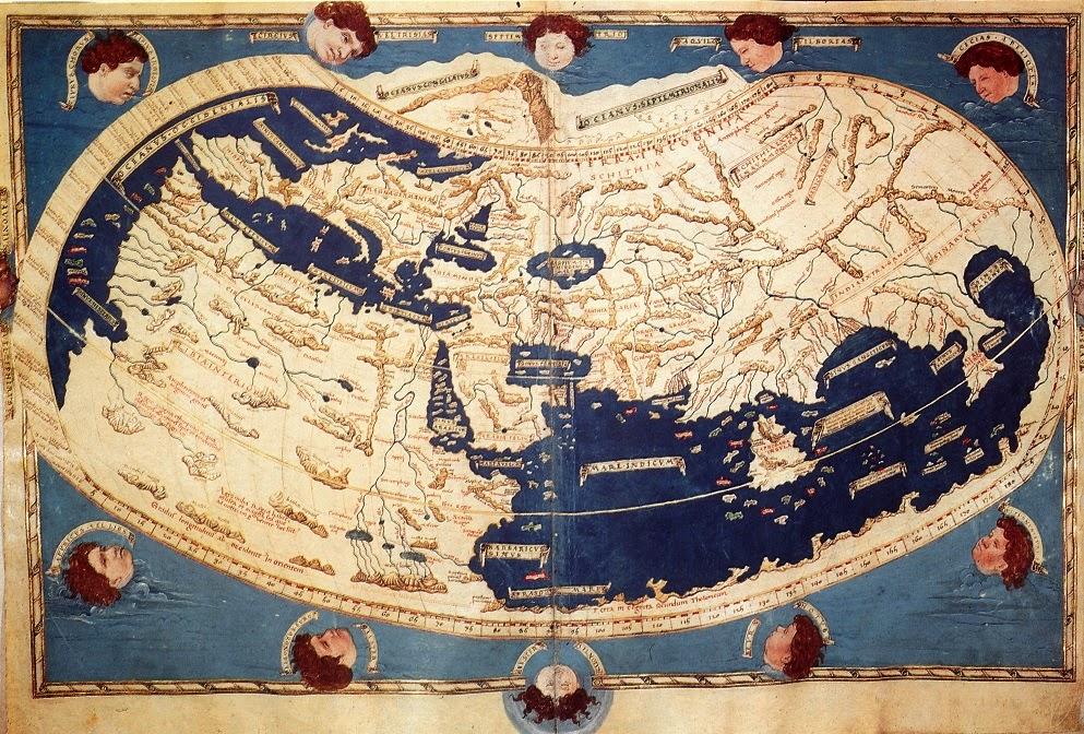 Cartina Mondo Da Riempire.Imparare Con La Storia Storia Della Cartografia Medievale