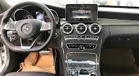 Mercedes C300 AMG 2017 đã qua sử dụng nội thất màu Đen