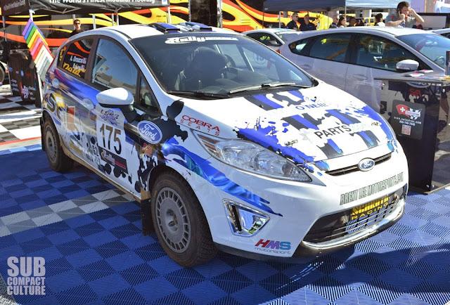 Ford Fiesta Raly Car form the 2013 SEMA Show