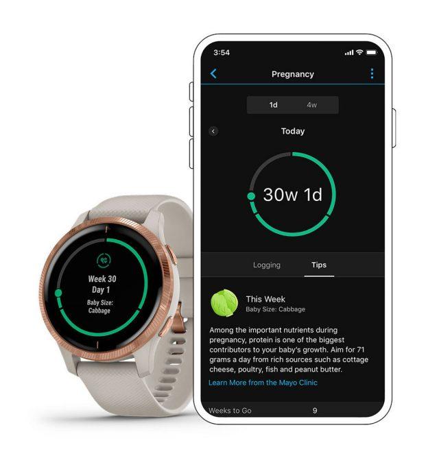 Τα smartwatches της Garmin θα δίνουν συμβουλές υγείας και για την… εγκυμοσύνη!