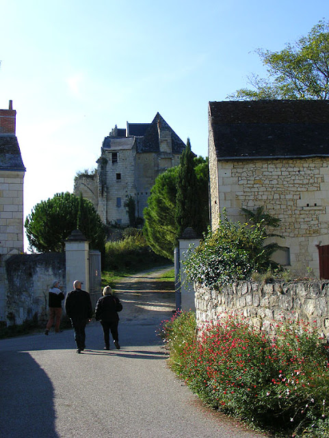 The Chateau of Crissay sur Manse, Indre et Loire, France. Photo by Loire Valley Time Travel.