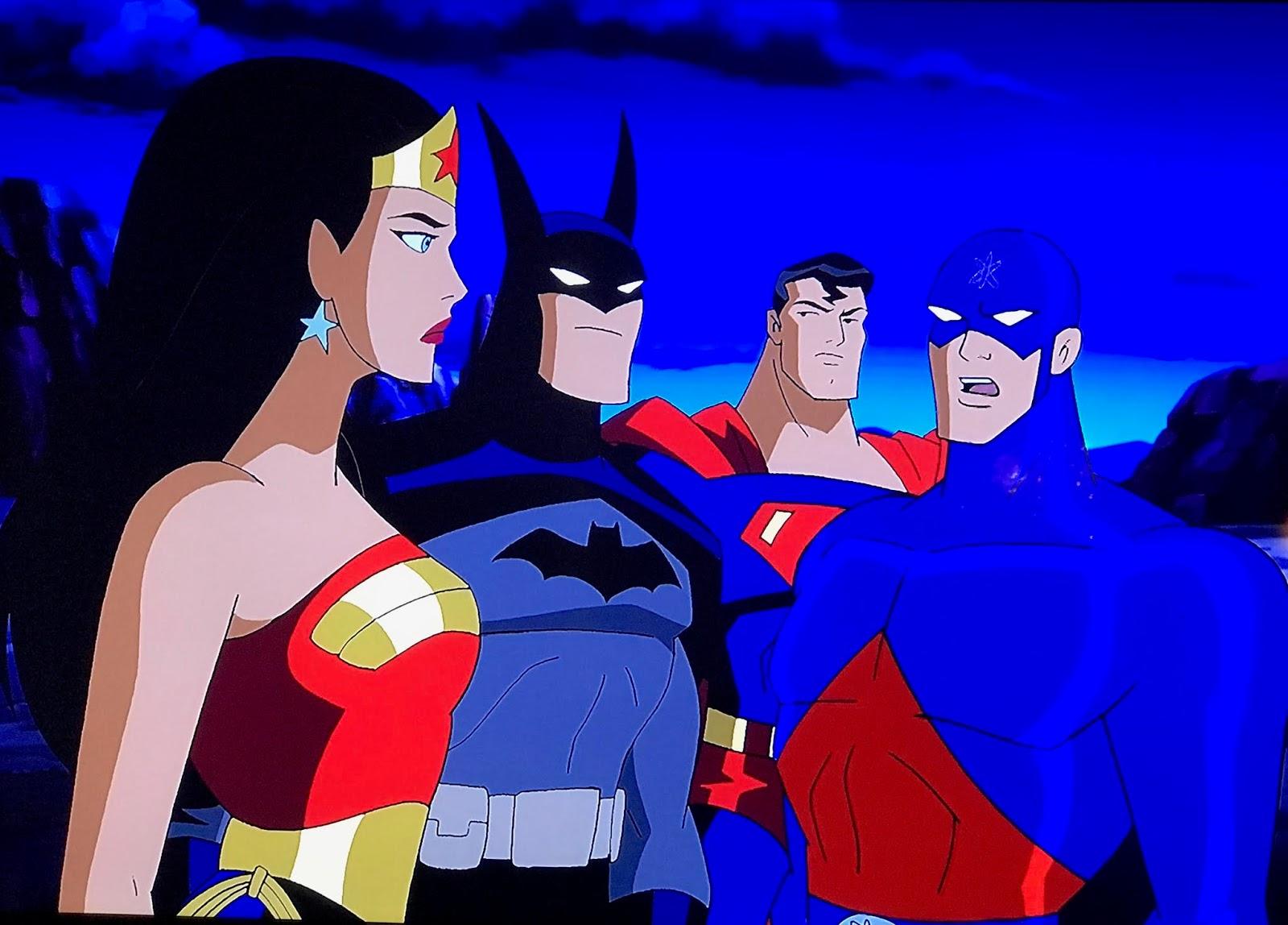 Giant-Size Geek: Justice League Unlimited: Dark Heart
