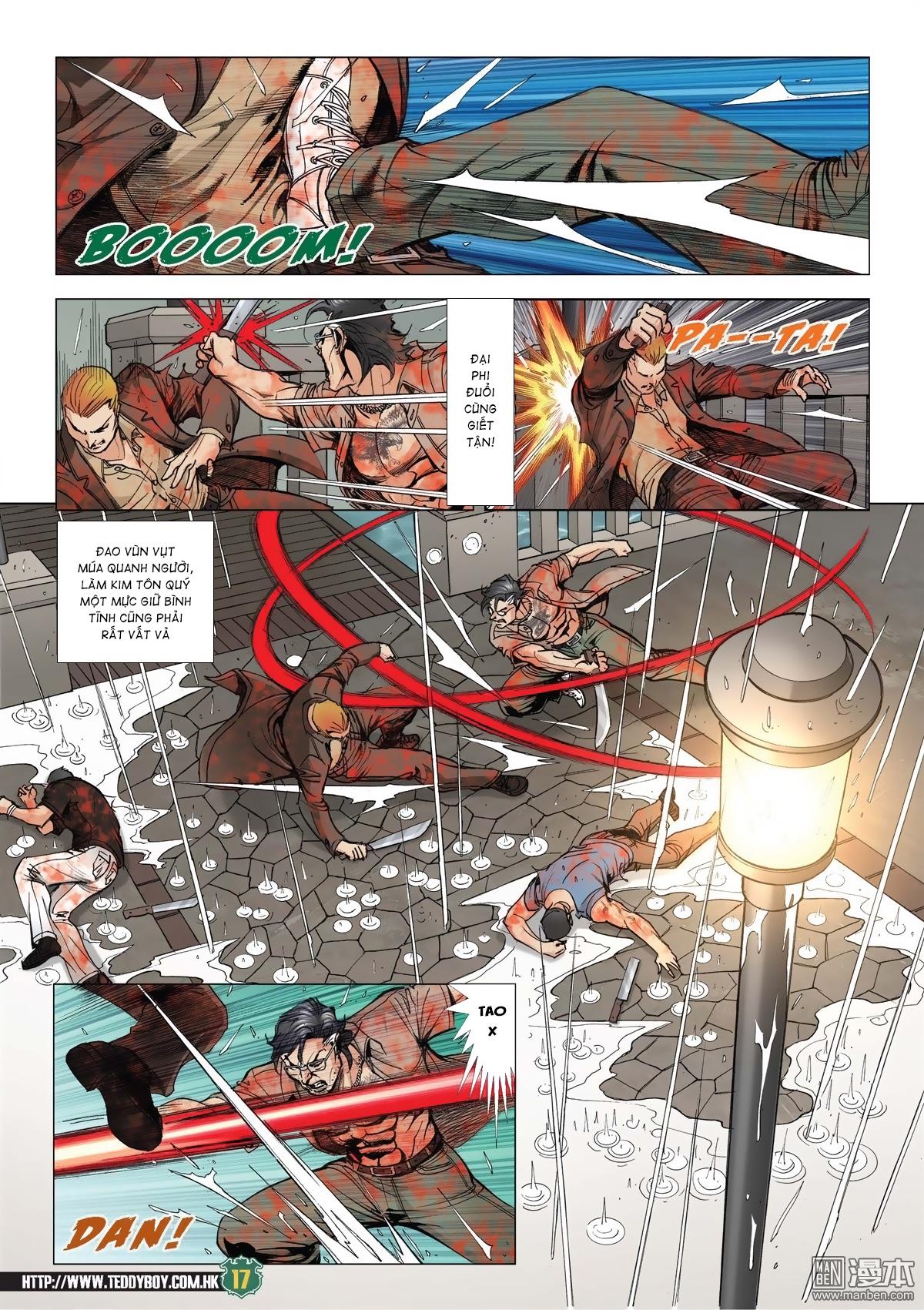 Người Trong Giang Hồ chapter 2033: kim tôn quý vs đại phi trang 14