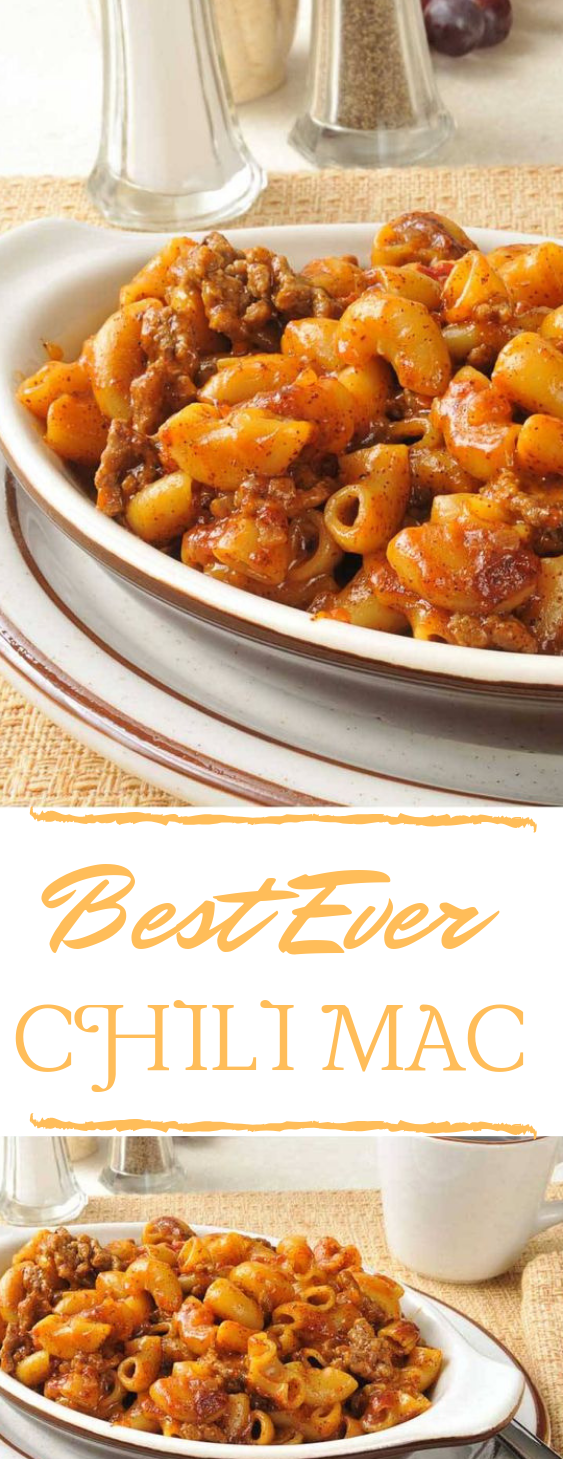 BEST CHILI MAC RECIPE #dinner #vegan #meal #beef #delicious