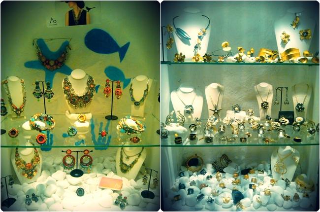 Oia jewellery shops