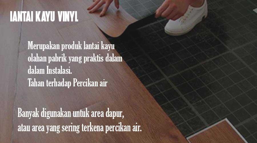 lantai kayu indoor Vinyl