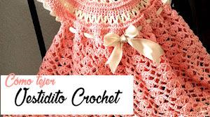 Vestidito Crochet para Nenas / Tutorial en Español