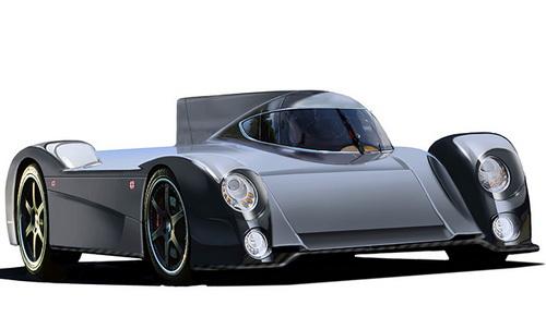 Tinuku.com GT-EV Green4U all-electric road-racing car by Panoz