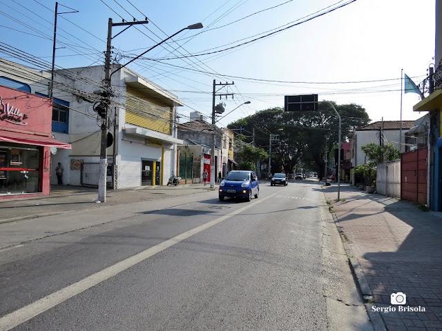 Vista de parte da Rua Clélia - Lapa - São Paulo