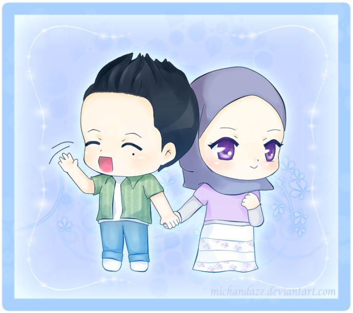 Save Gambar Anime Islami Lucu Pics