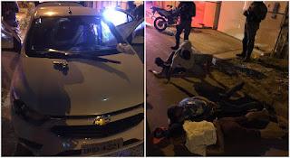 Assaltantes são presos após roubo e sequestro de motorista de aplicativo em São Luís