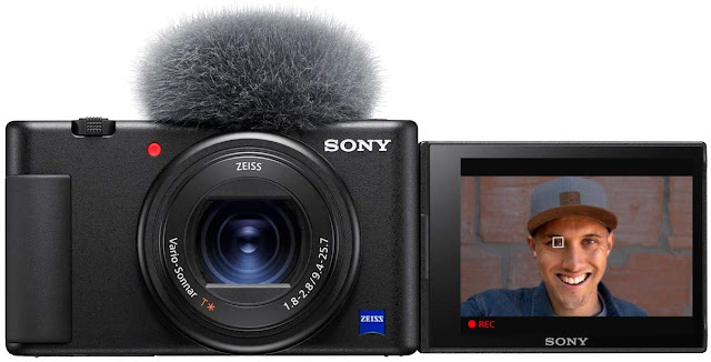 Sony ZV-1 Camera for Content Creators, vlogging and YouTube with flip screen and microphone - trendingshoppingdeals.com