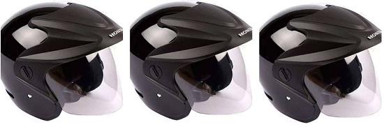 Helm Bawaan Motor
