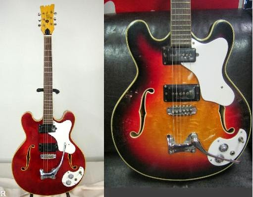 1968 Mosrite Celebrity Guitar - Cycle Progressions in G ...