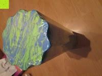 Verpackung: Faszien Rolle »Anila«, Foamroller Massagerolle 45 x 15 cm zur effektiven Selbstmassage, in schwarz, pink und grün erhältlich.