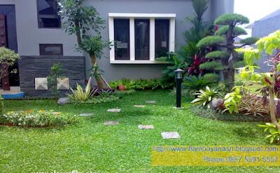 Tukang Taman Surabaya Konsep Natural