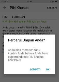 Membuat PIN BBM Unik Di Android Secara Gratis