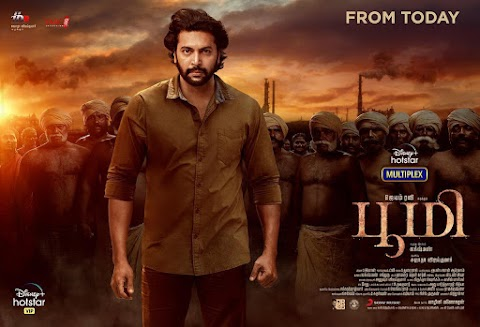 Download Bhoomi (2021) Tamil Full Movie   Jayam Ravi, Nidhhi Agerwal