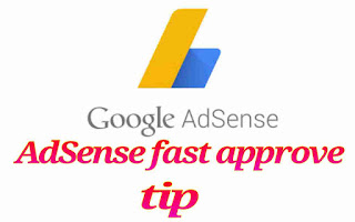Fast AdSense approval tips