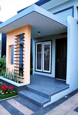 Desain Teras Rumah Minimalis Modern 2