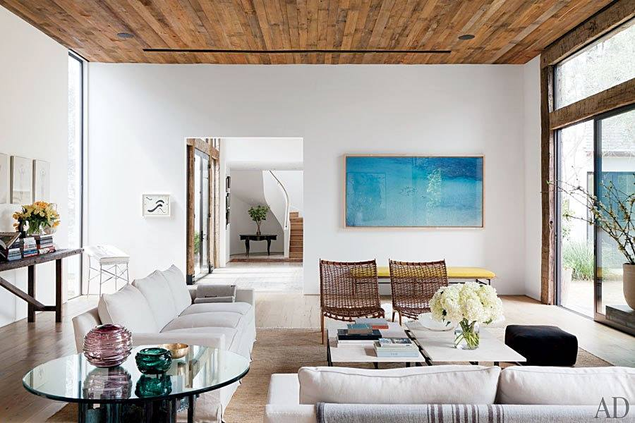 Interior Envy Jenni Kayne's L.A. Home Living Room