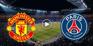 مشاهدة مباراة باريس سان جيرمان ومانشستر يونايتد بث مباشر بتاريخ 20-10-2020 في دوري أبطال أوروبا