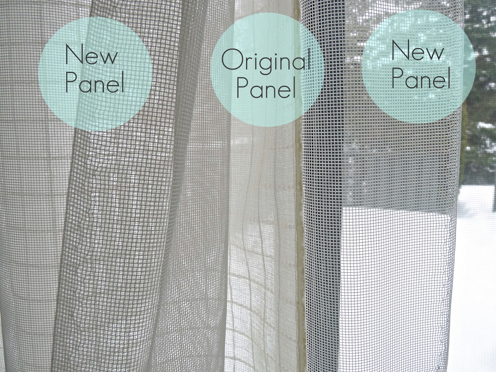How to Make Sheer Curtains Less See Through