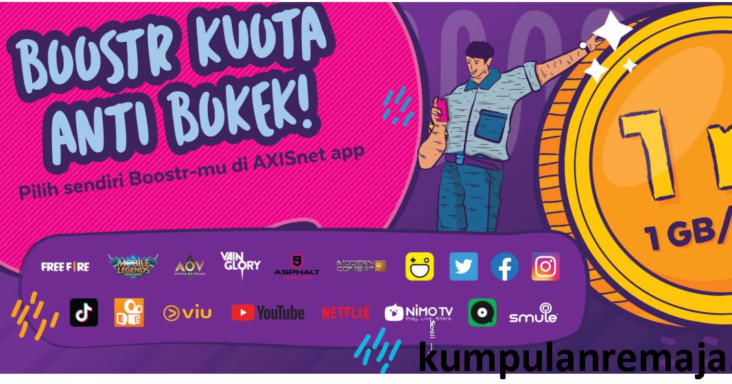 Daftar Harga Paket Boostr Axis Terbaru Kumpulan Remaja
