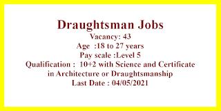 Draughtsman Jobs in Border Roads Organisation